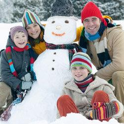 Sure, that snowman looks friendly now, but just you wait.