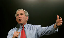 George W. Bush had several slips during his term in office.