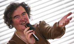 At 48, Susan Boyle is one of the younger people featured in this list.