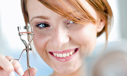 An eyelash curler can do wonders for your lashes.