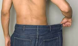 When you lose weight, where does it go? Not in his pockets.
