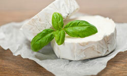 Goat cheese tastes so rich and delicious, you'd never guess it was also low in sodium.