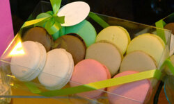 Macaroons will dress up any table.