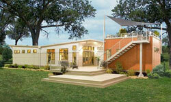Clayton Home's i-house achieved a Platinum LEED rating -- the highest mark possible.