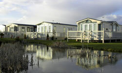 Some mobile home communities are gated and secure, while others resemble tiny resorts.
