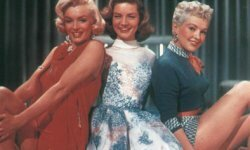 Betty Grable starred in the film 'How to Marry a Millionaire' along with Marilyn Monroe and Lauren Bacall.