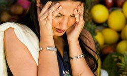 Migraines may be genetic.
