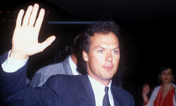 Mr. Mom himself, Michael Keaton in Westwood, Calif.