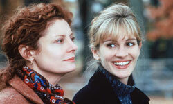 "Julia Roberts and Susan Sarandon star in ""Stepmom."""