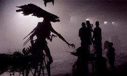 "In defiance of God himself, filmmakers create 2004's ""AVP: Alien vs. Predator."""