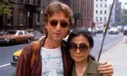 "John Lennon's ""Double Fantasy"" is probably the most valuable record. Lennon is shown here with wife Yoko Ono shortly before his shooting."
