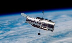 Thanks, Hubble, for everything, including your cool CCD technology.