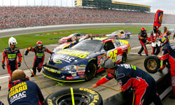 You may be surprised by some of the tools and tricks that NASCAR pit crews use on race day. See more NASCAR pictures.