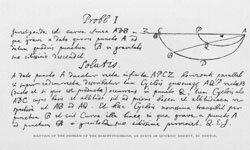 Newton drops some math knowledge.