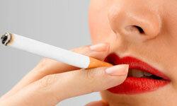 Smoking contributes to snoring.