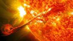 Huge Solar Storms Could Have Kickstarted Life on Earth
