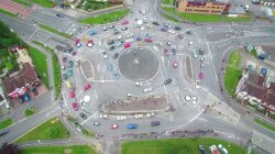 See the Swirling Glory of Britain's 7-Circle Magic Roundabout