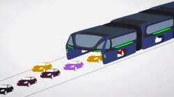 Bus That Drives Over Traffic to Hit Chinese Roads This Summer