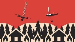 Here's Why Drones and Firefighters Can't Share the Same Sky