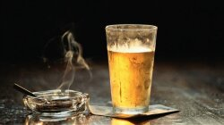 Only Smoke When You Drink? You're Still a Smoker
