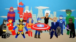 Paper Animation Explains the Numbers Behind Superhero Movies