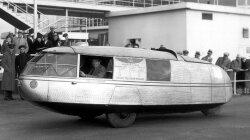 Test Driving Buckminster Fuller's Dymaxion Car