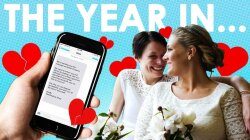 The Year in Love, Relationships and Other Mushy Stuff