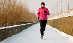 Even the most active people may have a hard time getting out to exercise in frigid temperatures.