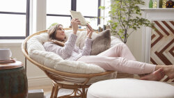 How the Papasan Chair Wound up in Everyone's First Apartment