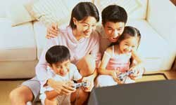 Playing educational video games can be healthy for preschoolers, but parents should still monitor the games and limit the time spent playing.