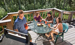 Get your deck in order before the guests arrive. See more deck and patio decor pictures.