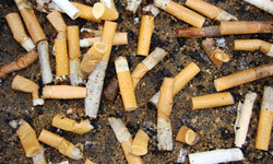 Follow these steps to remove tobacco stains from various surfaces.