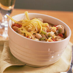 White beans and chicken can add a unique touch to your chili.