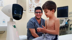 Robin the Robot Helps Sick Children Feel Less Lonely