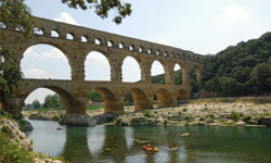 When it came to building aqueducts, the ancient Romans were pros.