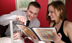 It can be fun to return to the restaurant where you had your first date.