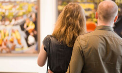 Checking out local art galleries is a popular date-night activity.