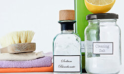 Baking soda may be a cheap, easy way to cleanse and exfoliate your skin.