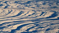Sastrugi: Nature's Beautiful Speed Bumps