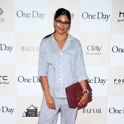 Oh yes, she did! Designer Rachel Roy wore a pair of pajamas to a movie premier.