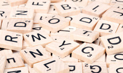 The tiles that you draw are random -- but that's where luck ends and strategy begins in Scrabble.