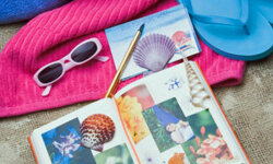 Take back your kitchen table and set up your own scrapbook room.