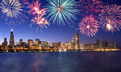 The 4th of July is a fabulous time for fireworks.