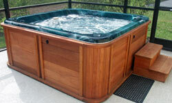 Comfort is definitely key so if possible, try out hot tubs when they're filled with water and operating.