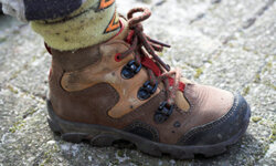 Hiking boots are great for active boys.