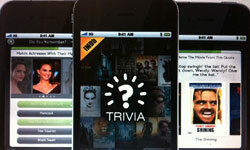 It's not just for your browser anymore. IMDb.com has moved into the app market with a trivia game for film buffs.