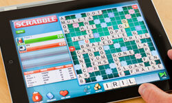 """Scrabble"" for iPad keeps your mind nimble and the noise level down."