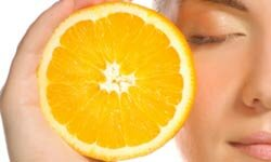 Just the pleasant smell of an orange has been shown to reduce anxiety.