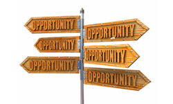 Opportunities sometimes show up everywhere you look.