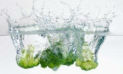 A serving of broccoli has only 10 mg of sodium.